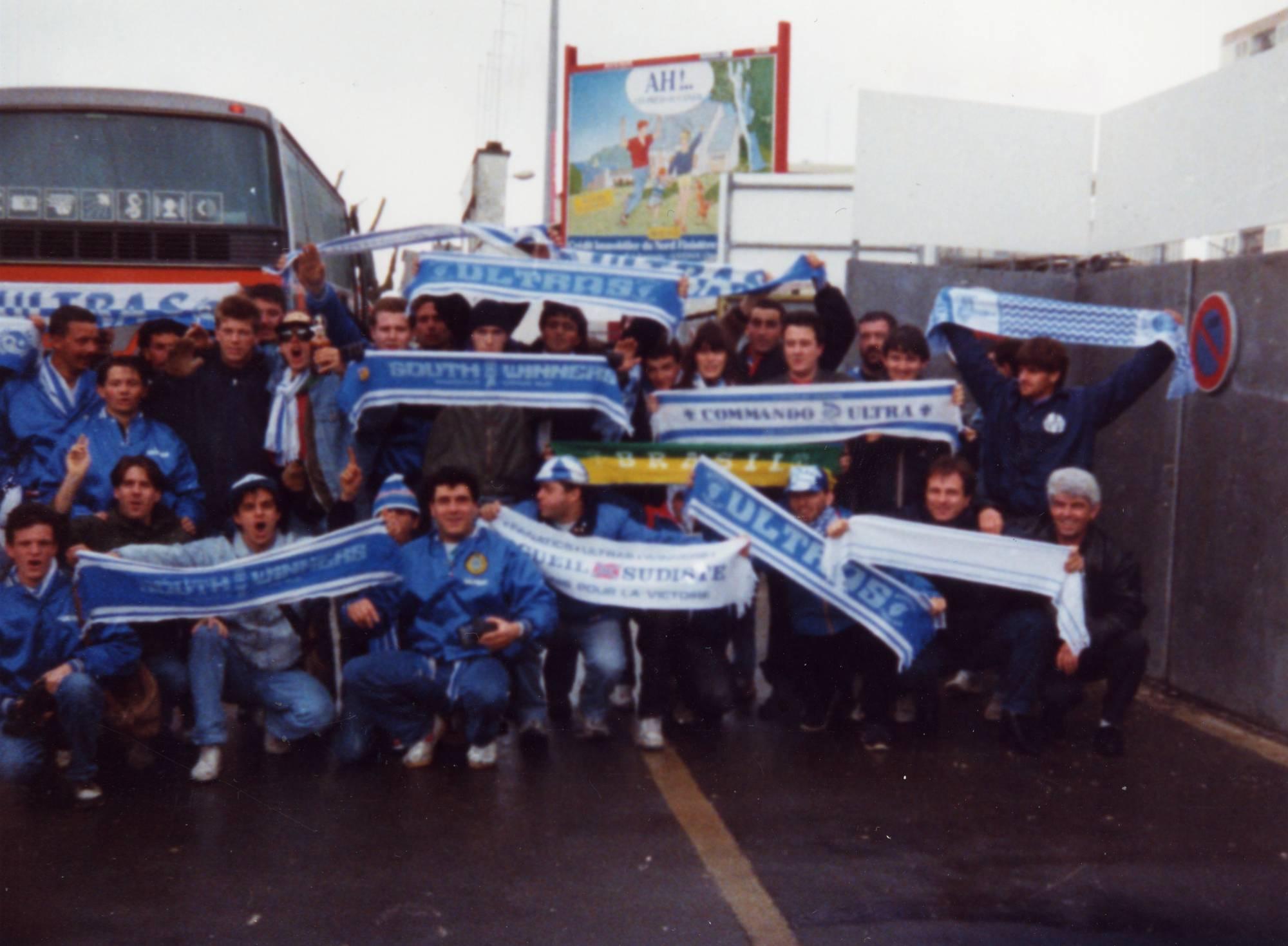BREST - OM saison 1989/1990