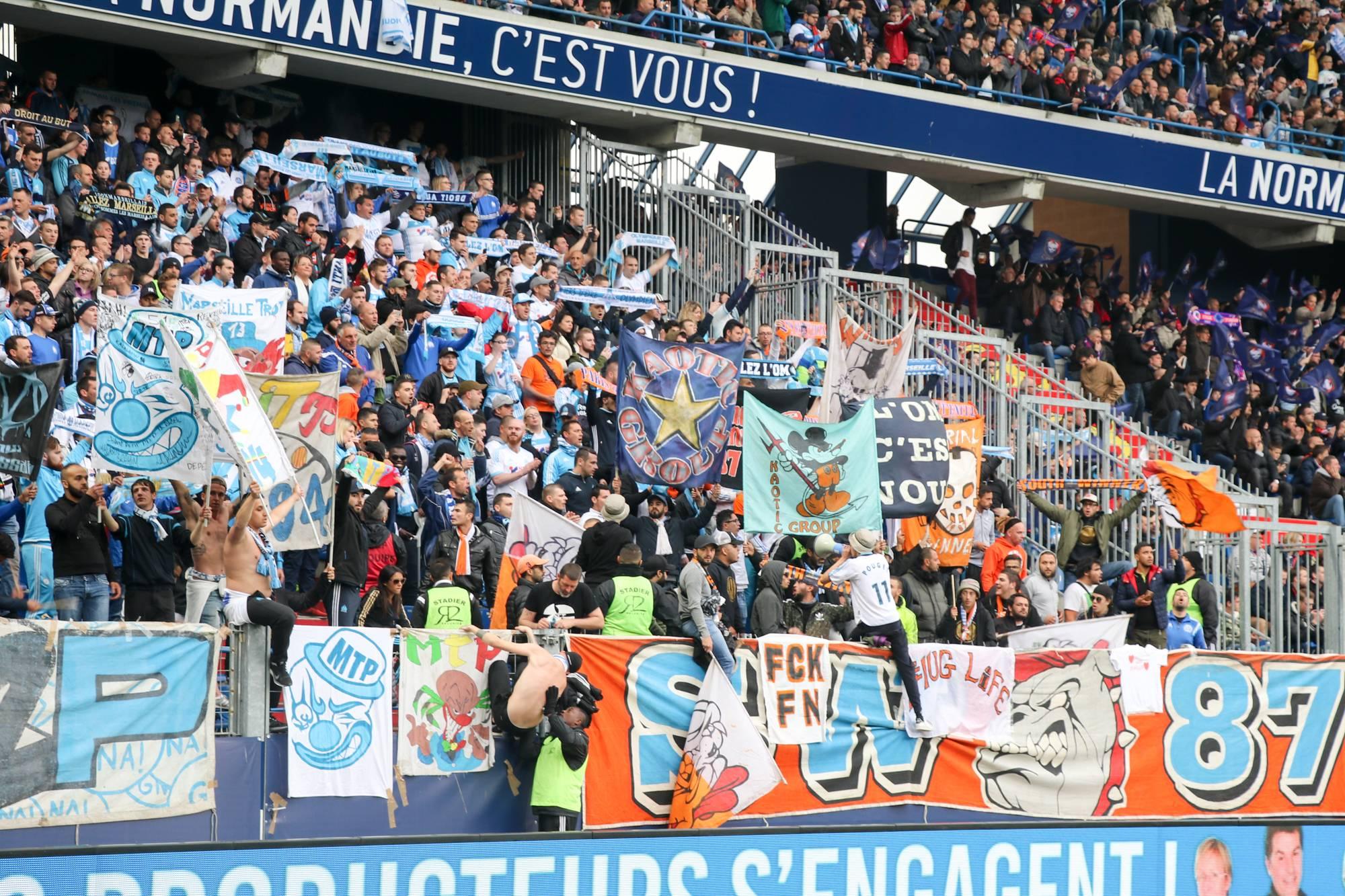 Caen - OM saison 2016/2017