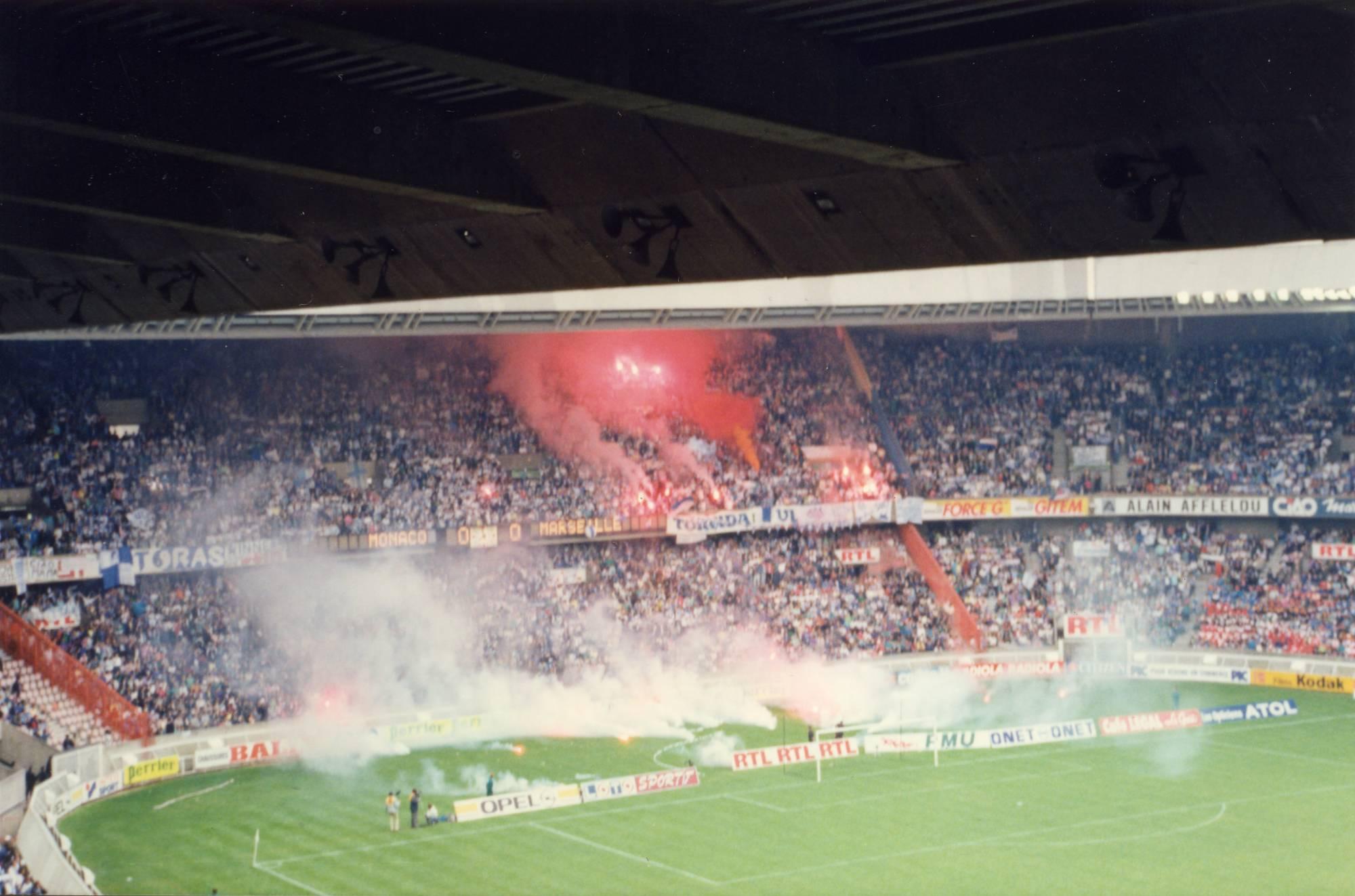 OM - MONACO FINALE COUPE DE FRANCE saison 1988/89