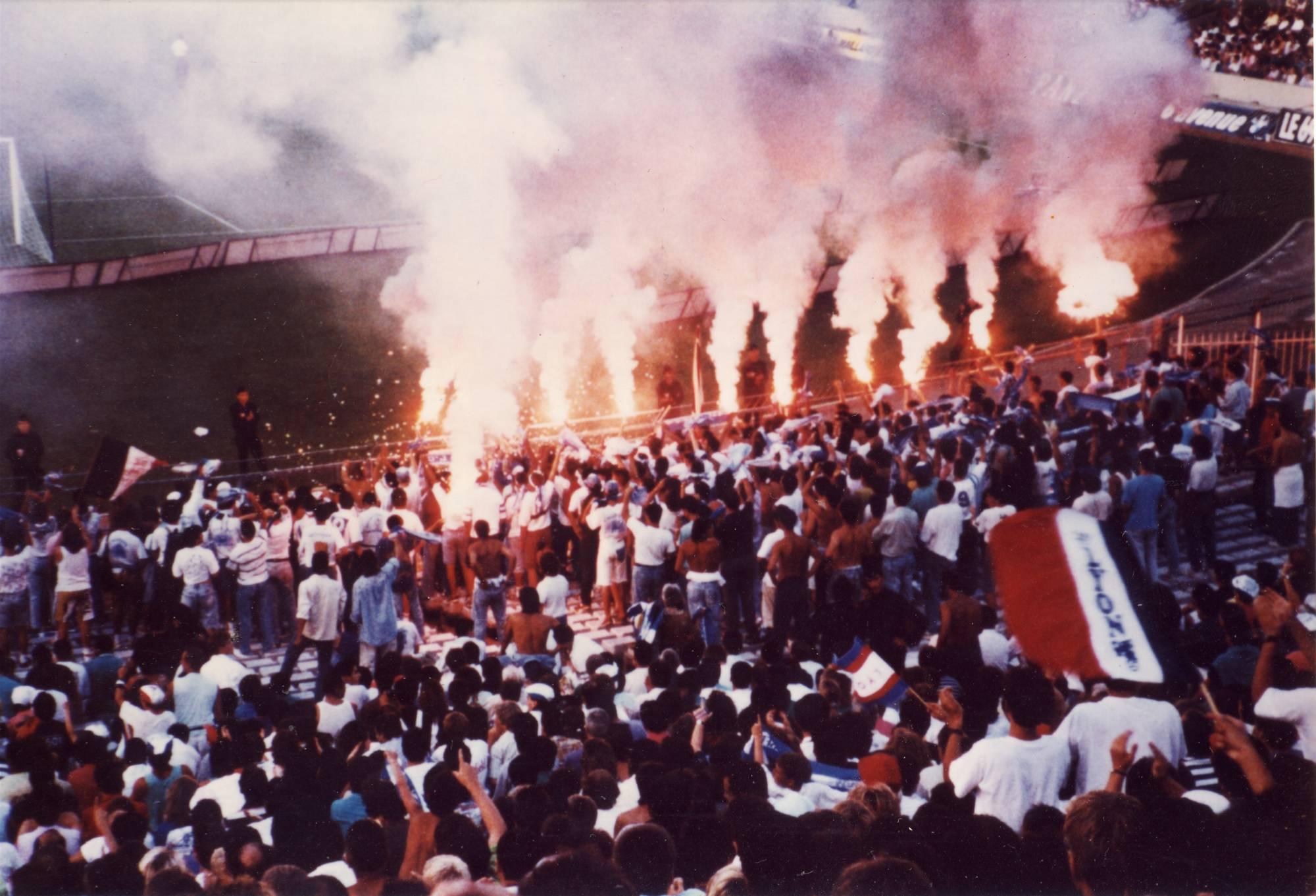 LYON - OM saison 1990/1991