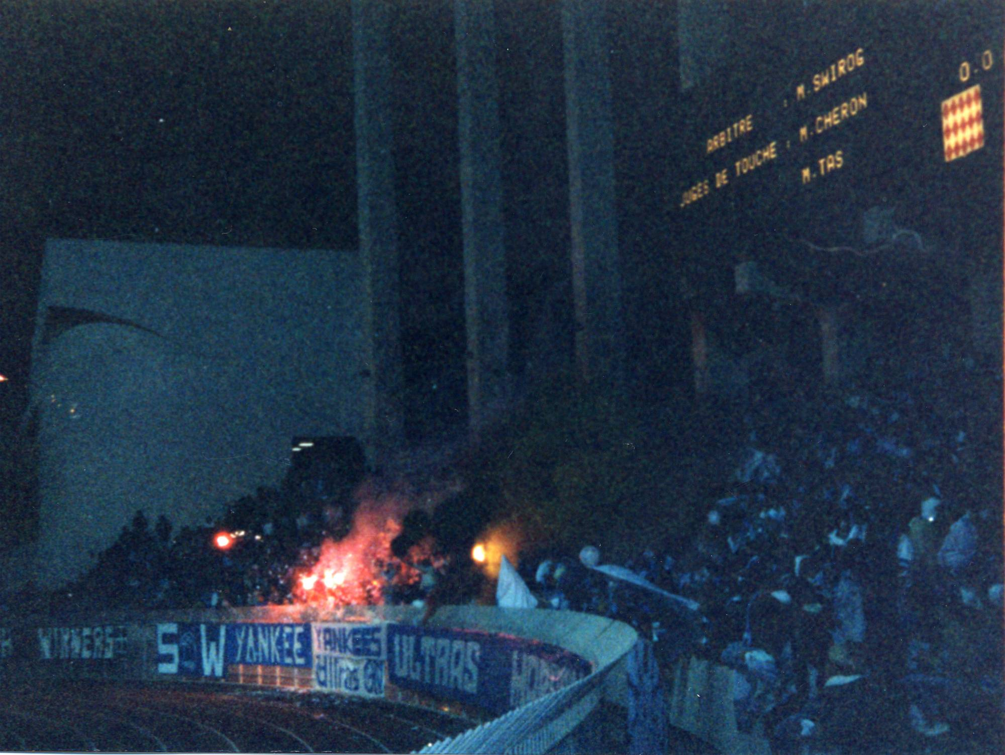 MONACO - OM  saison 1988/89