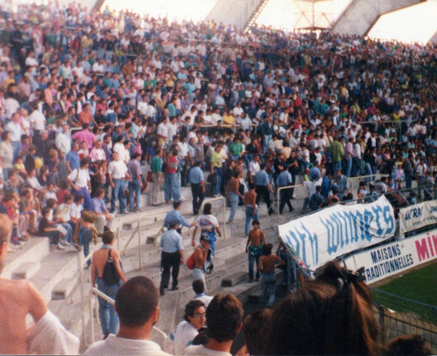 NANTES - OM saison 1989/1990