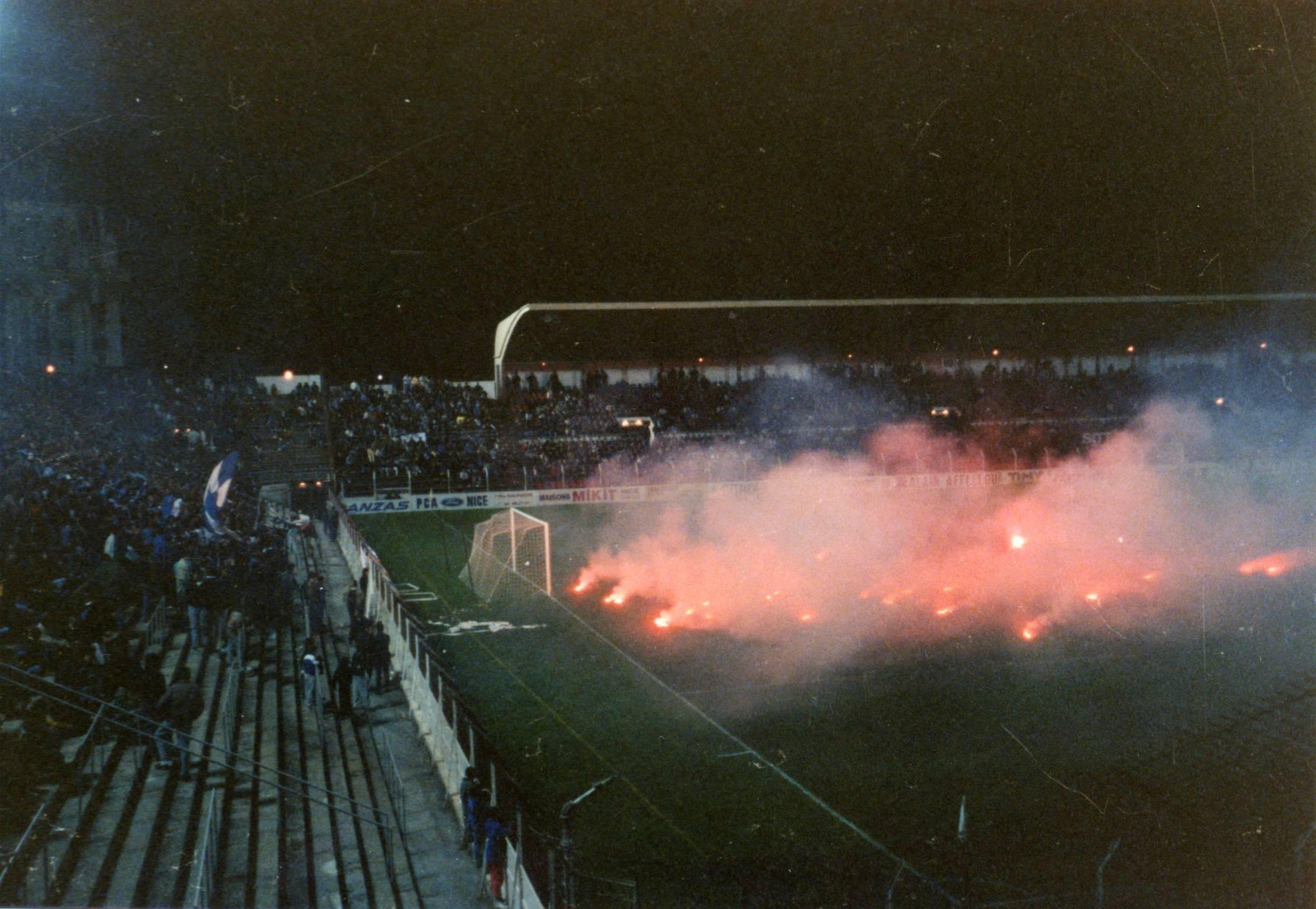NICE - OM saison 1988/89