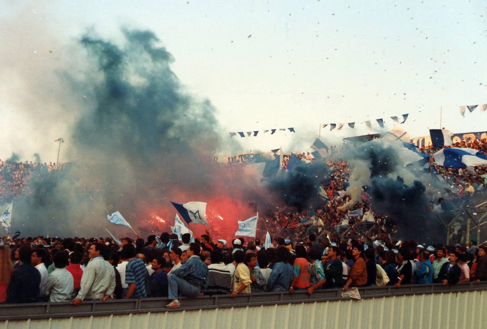 OM - AUXERRE COUPE DE FRANCE saison 1988/89