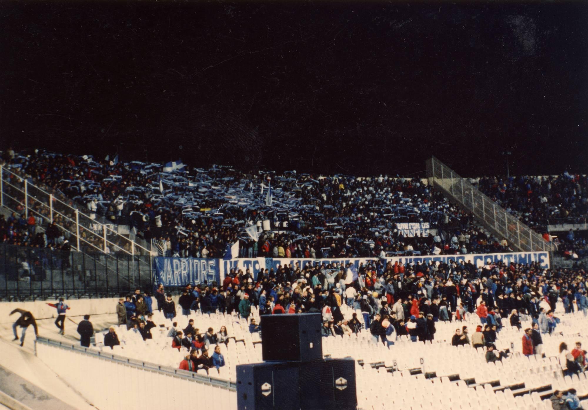 OM - BORDEAUX saison 1987/1988