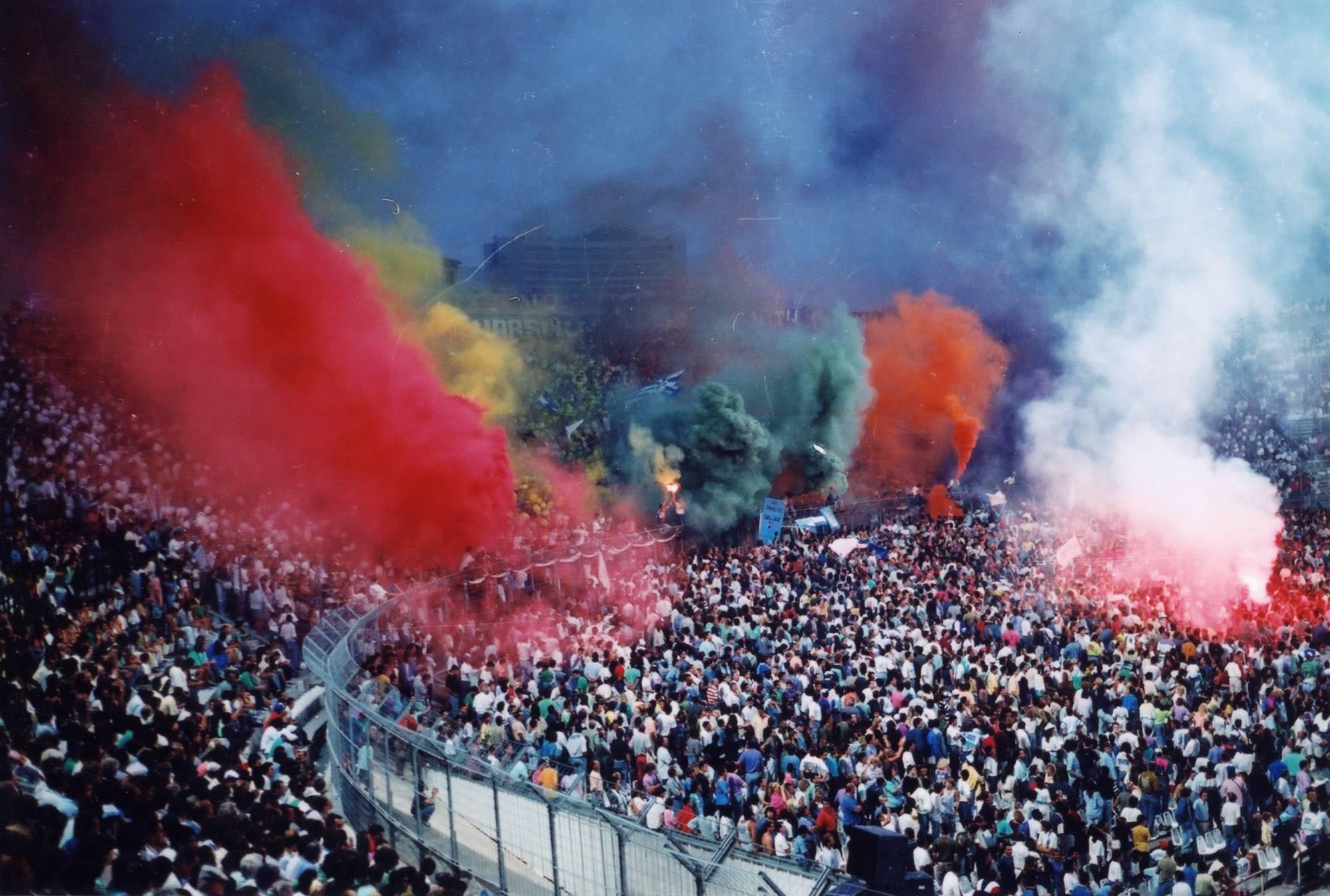 OM - BORDEAUX saison 1989/1990