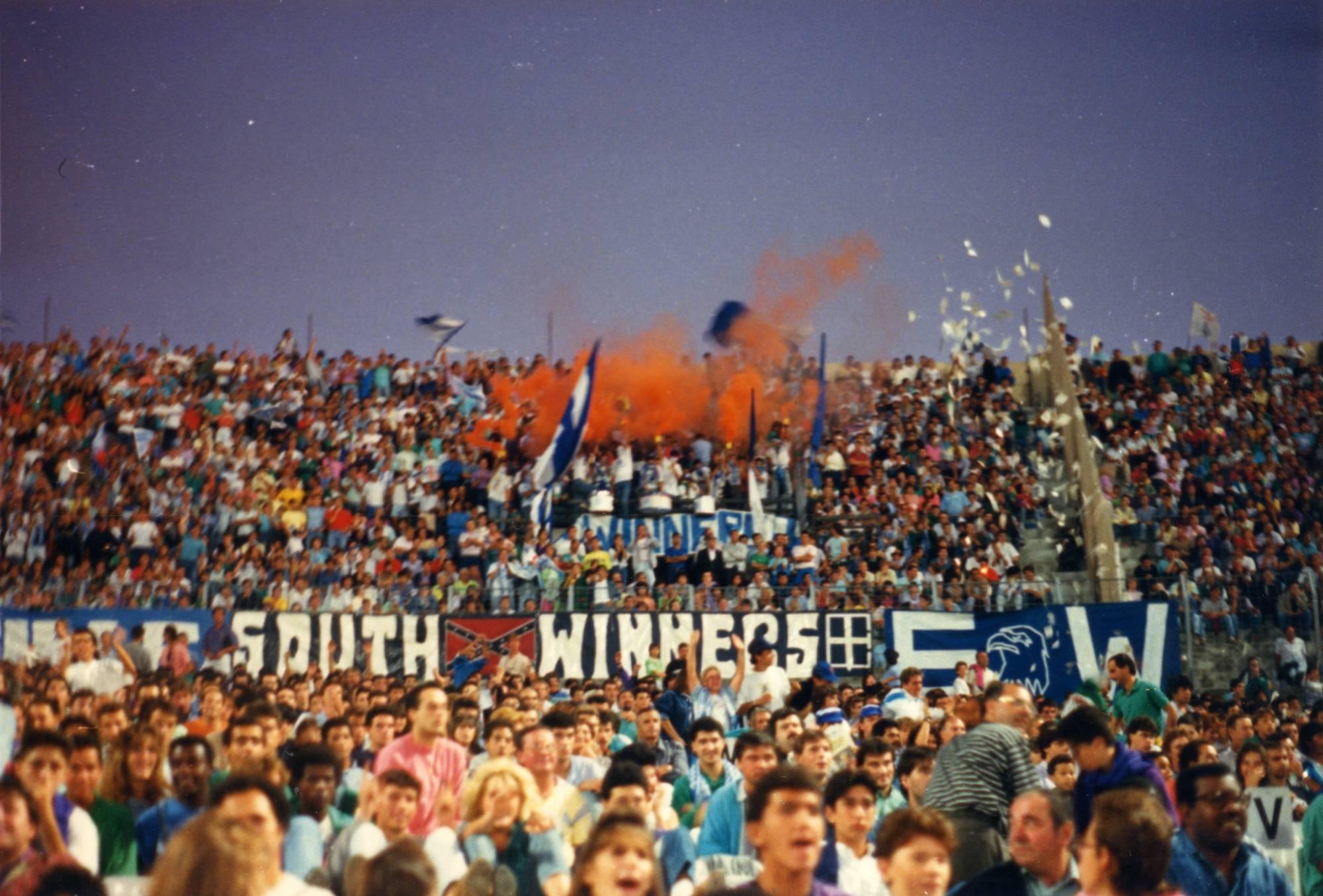OM - LENS saison 1988/1989