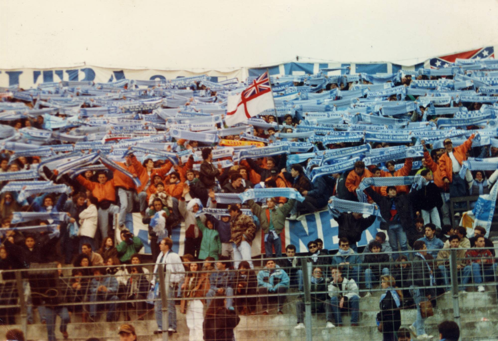OM - LYON saison 1990/1991