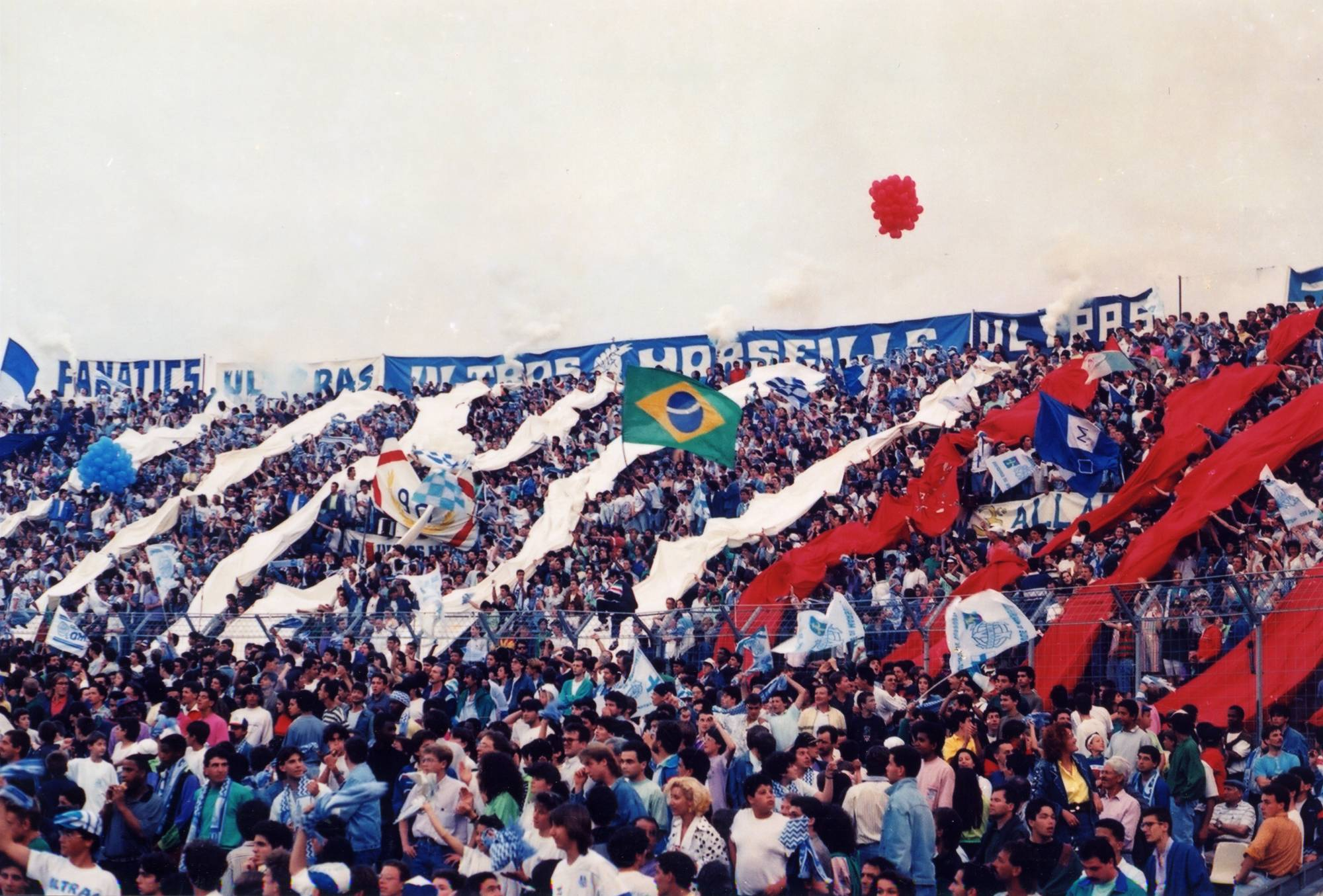 OM - LYON saison 1989/1990