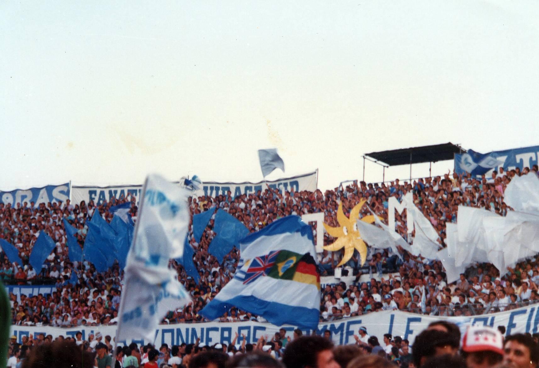 OM - MONTPELLIER saison 1989/190