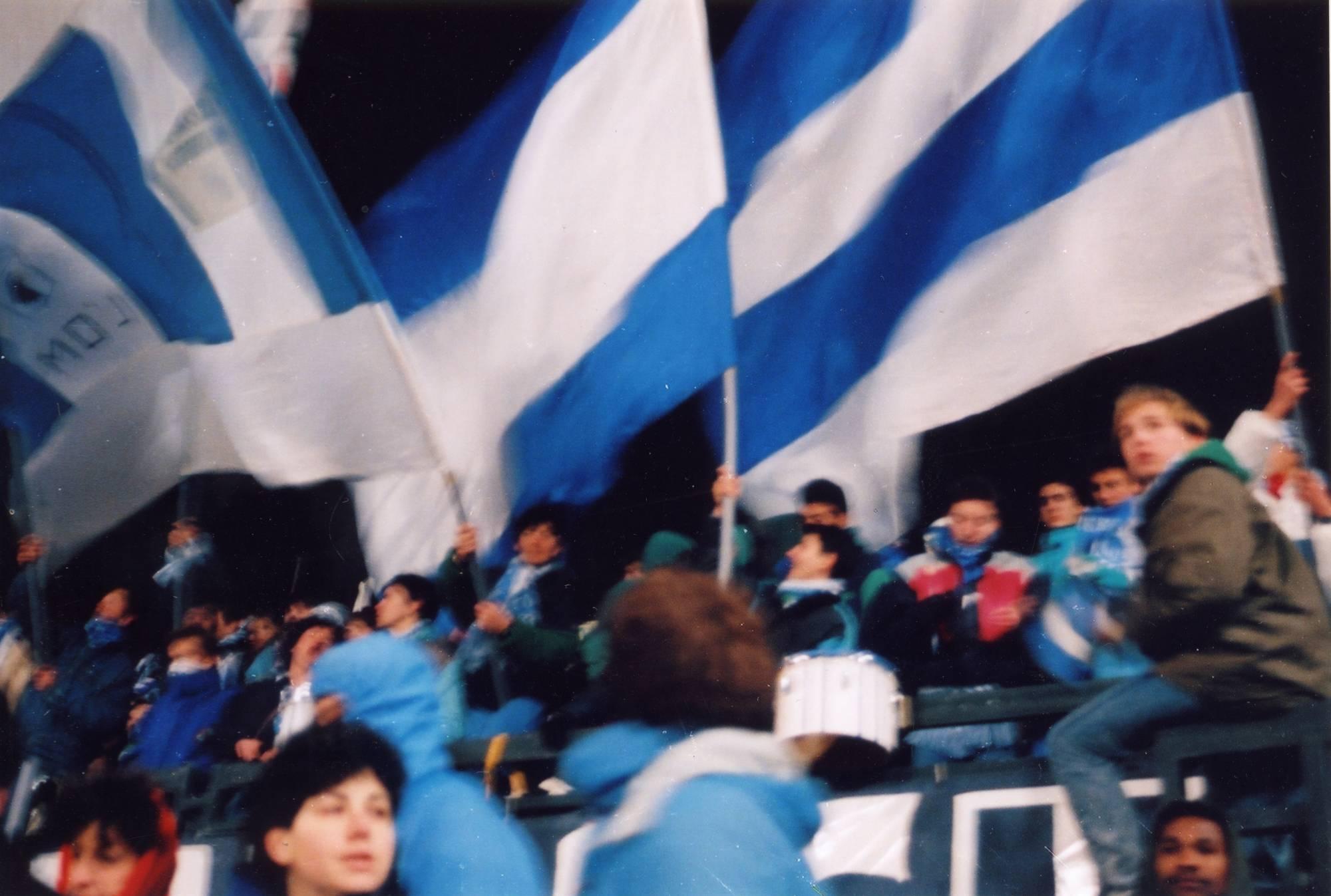 OM - NANTES  saison 1988/89