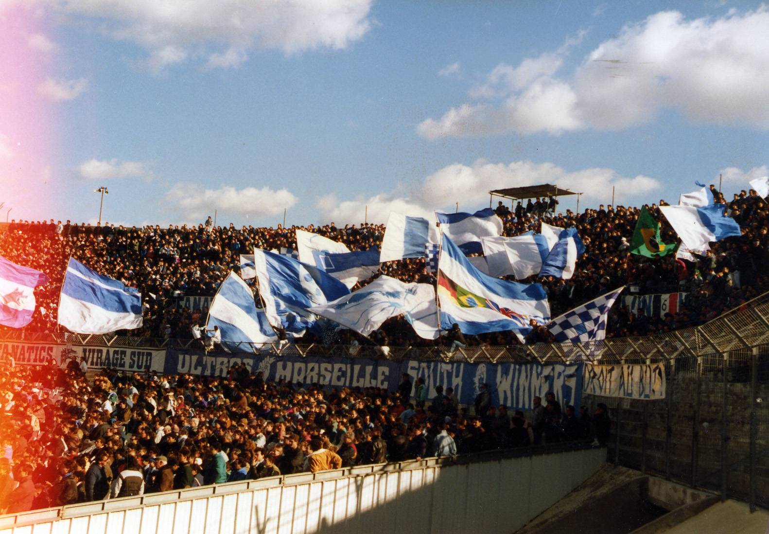 OM - RC PARIS saison 1989/1990