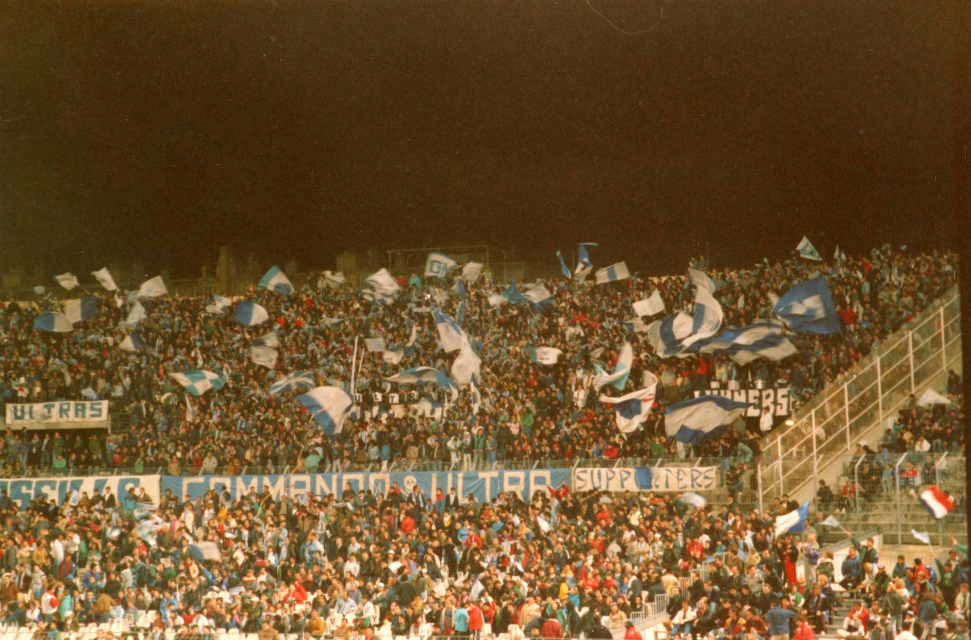 OM -  ROVANIEMI en COUPE DES COUPES  saison 1987/1988