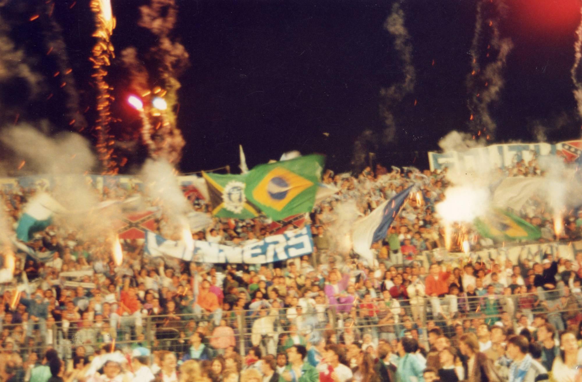 OM - St Etienne saison 1990/1991