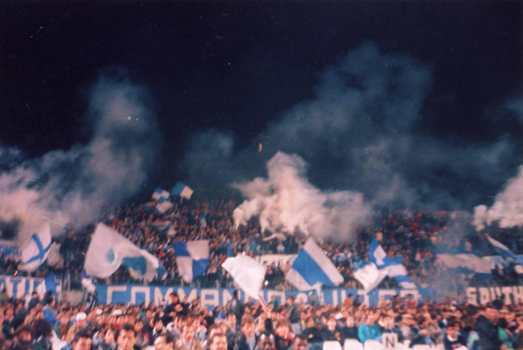OM - STASBOURG saison 1988/1989