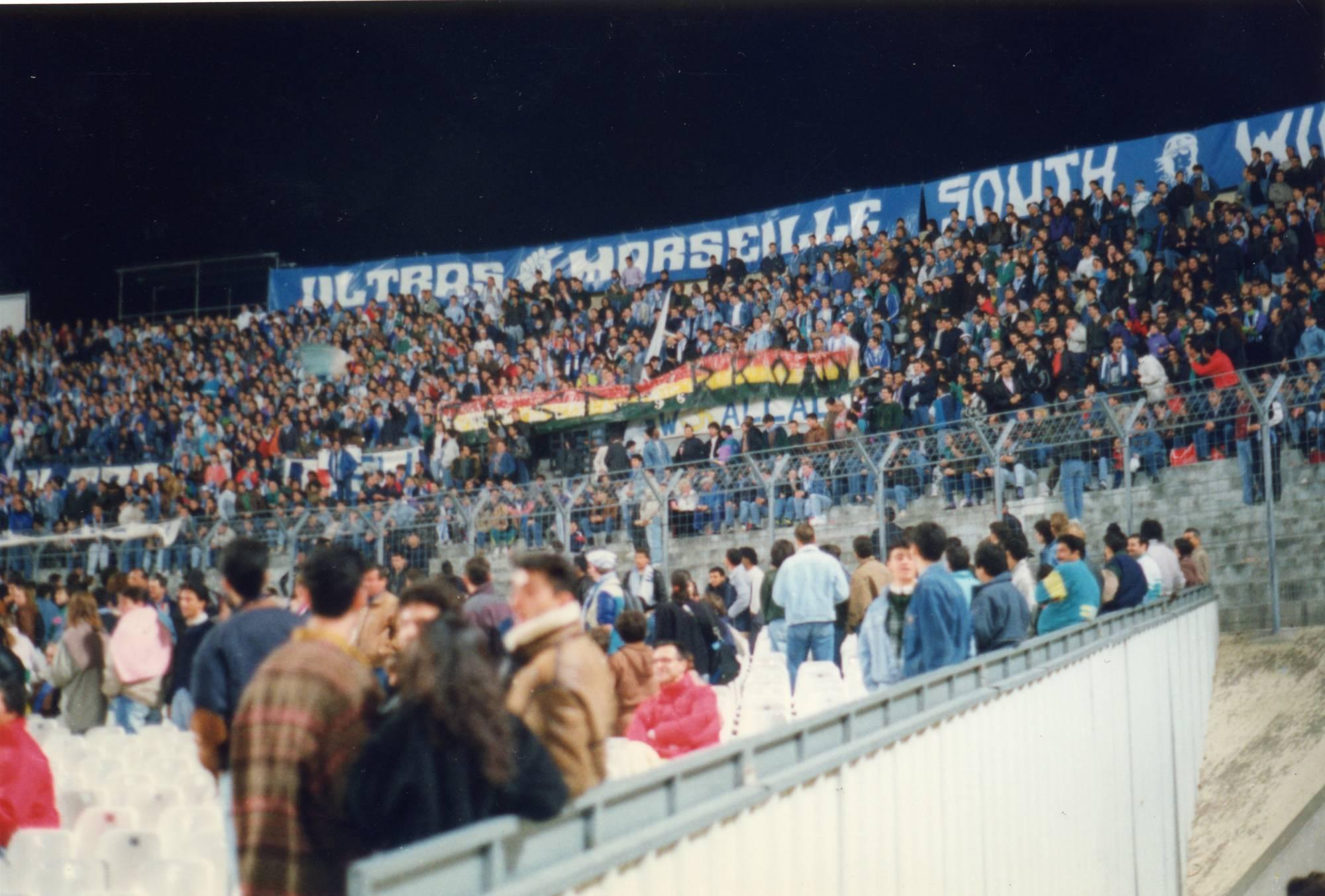 OM - TOULON saison 1989/1990