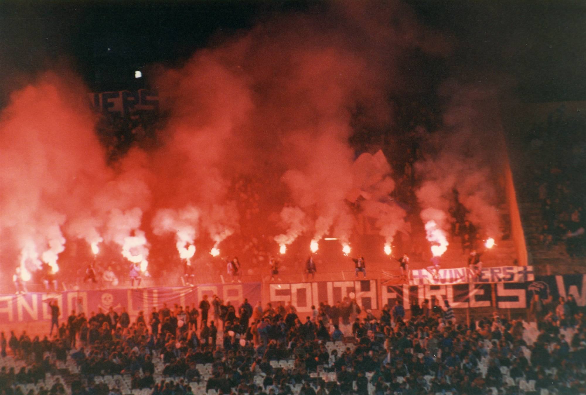 OM - TOULOUSE saison 1988/89
