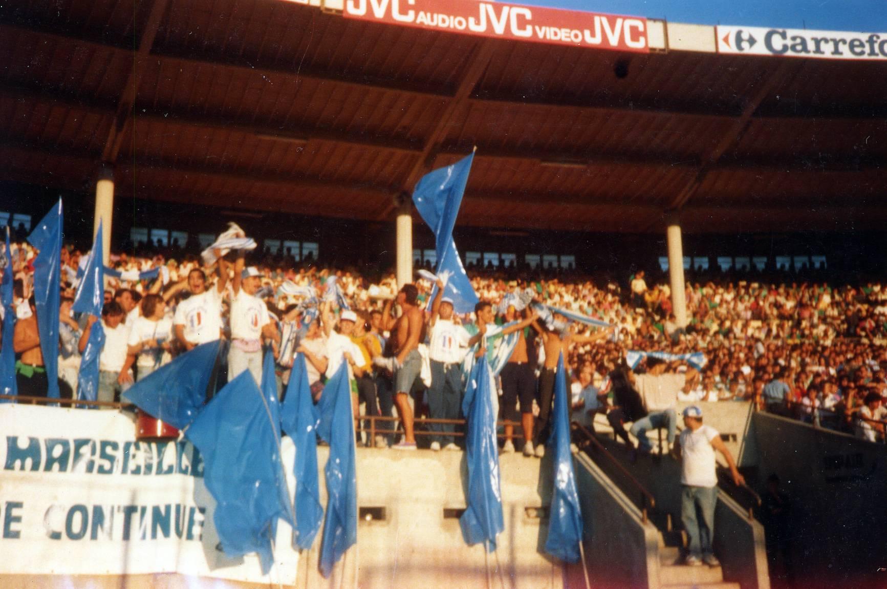 TOULOUSE - OM saison 1989/1990