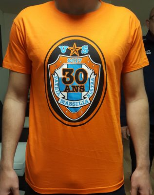 T-SHIRT COLLECTOR ORANGE 30 ANS SW87